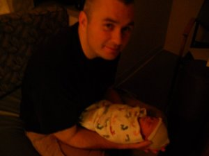 Charlie and Daddy, First Night